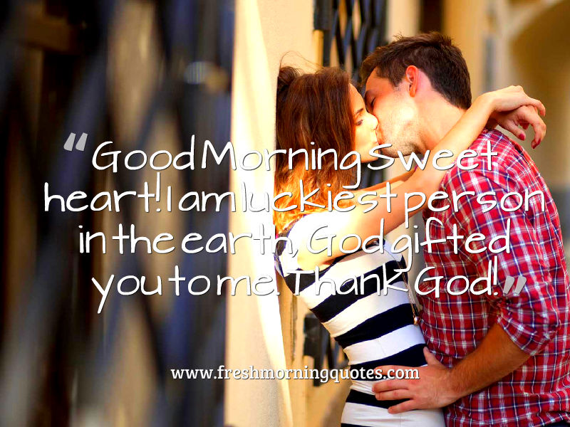 good morning sweet heart
