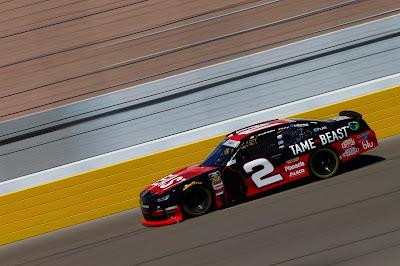 Tyler Reddick, driver of the #2 'TAME the BEAST' #NASCAR Xfinity Series Chevrolet