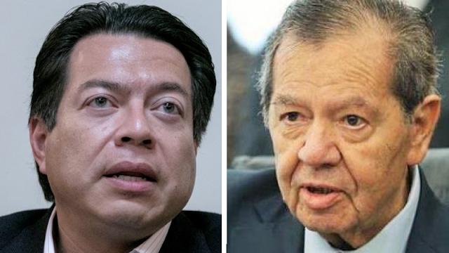 Mario Delgado y Porfirio Muñoz Ledo están en empate técnico por la Presidencia de Morena; habrá tercera encuesta: INE