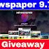 Newspaper 9.7.1 Wordpress Template Giveaway 2019