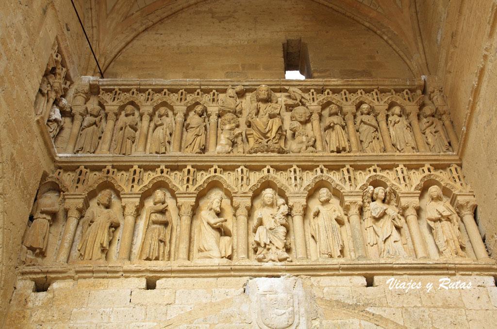 Iglesia de Sta María la Blanca de Villalcázar de Sirga