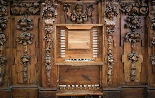 El órgano de la Iglesia de San Eutropio de El Espinar