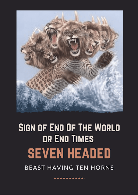 Sign of End Of The World / End Times