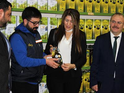 Mersin Başkonsolosu Zalihe Mendeli, ''Mut Zeytinyağı' nın Aroması Farklı''