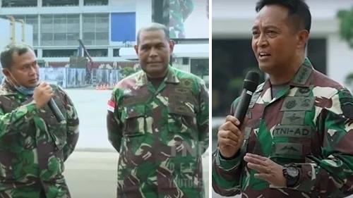 Jenderal Andika Perkasa: Cari Dandim Gembrot!!