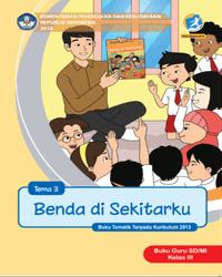 Buku tema 3 Guru Kelas 3 K13 2018