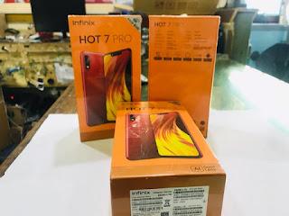 Hape Infinix Hot 7 Pro New RAM 6GB ROM 64GB 4G LTE Barang Sisa Stok