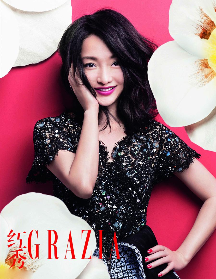 eye candy zhou xun for grazia rolala loves