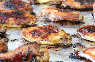 Sweet and Sticky Chicken Wings