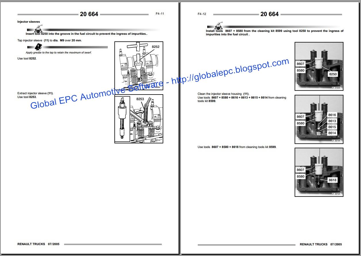 Renault Engine Wiring Diagram | Wiring Library