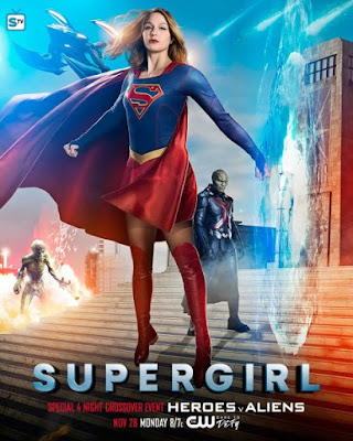 Poster Crossover Supergirl