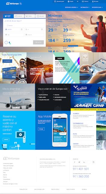 Portada de Air Europa