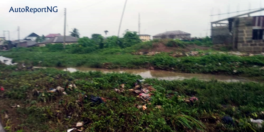 See The Bad State of Roads In Epe, The Hometown of Former Lagos State Governor - Photos