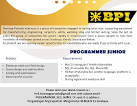 Open Recruitment at Bentang Persada Internusa Surabaya January 2020