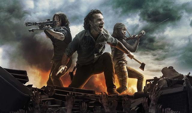 The Walking Dead: keyart della seconda metà della Stagione 8