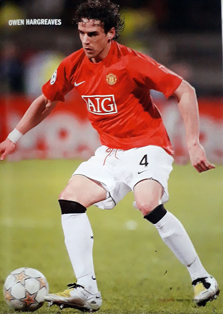 OWEN HARGREAVES OF MANCHESTER UNITED