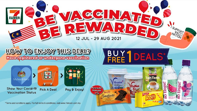 Vaccinated or Waiting for Your Turn? 7-Eleven Rewards You, Too!