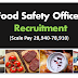 Food Safety Officer Recruitment  B.Sc.Ag & Allied Job