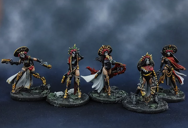 Daughters of the Crucible and Necromunda Death Cult