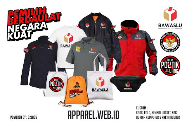 Desain Seragam Bawaslu Kaos Polo Kemeja Jacket