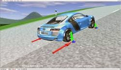 Vehicle dynamics simulation made free and easy with veDYNA Entry