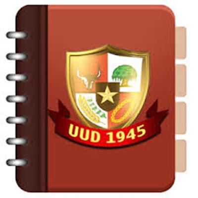 Sifat Undang Undang Dasar (UUD) 1945