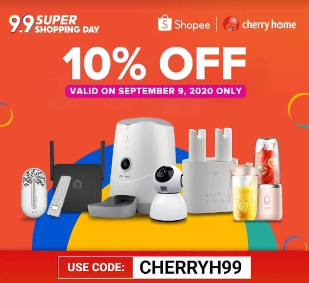 Dance this September with Cherry and Shopee's 9.9 Super Sale