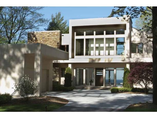 Proiect de casa stil modern Constanta - Proiect de casa cu etaj