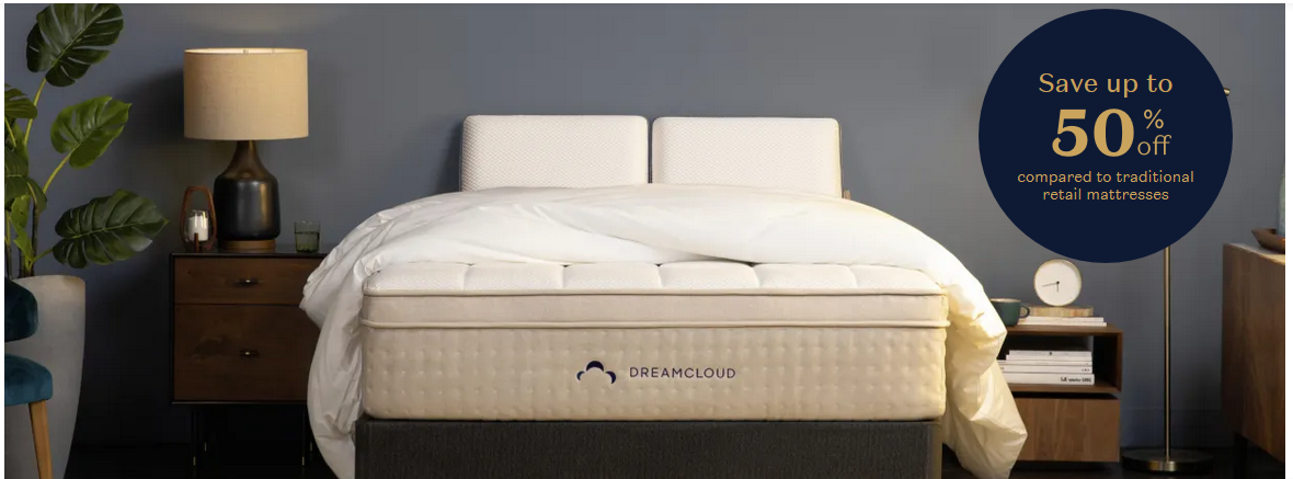DreamCloud - The Comfortable Luxury Mattress