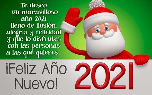 frases para desear feliz año nuevo 2021