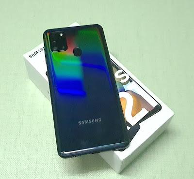 Samsung Galaxy A21s : Fingerprint Scanner Setup, Charging, Battery Drain Test