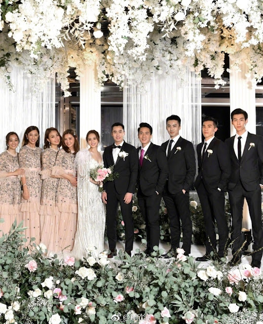 Gillian Chung Michael Lai Dec 20, 2018 wedding