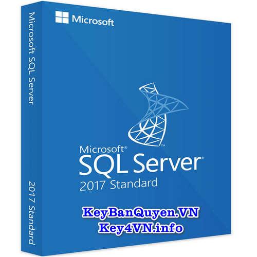 Mua bán key bản quyền SQL Server 2017 Standard 64 Bit.