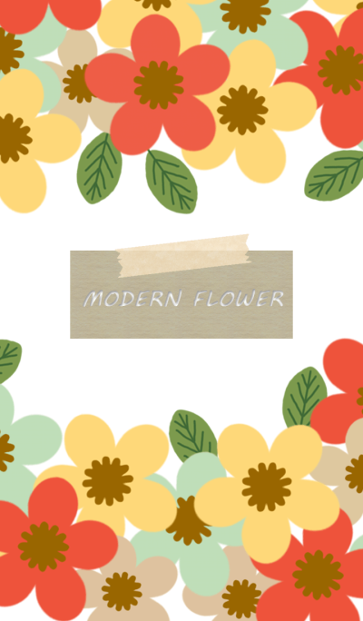 MODERN FLOWER 7 *
