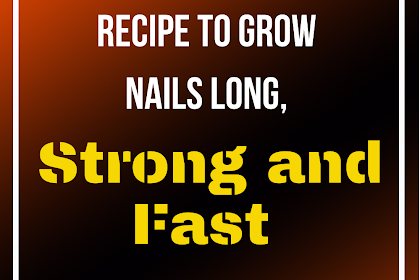 DIY Nail Soak Recipe to Grow Nails Long, Strong and Fast