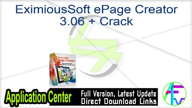 EximiousSoft ePage Creator 3.06 + Crack