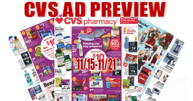 CVS Ad Scan 11-15 to 11-21