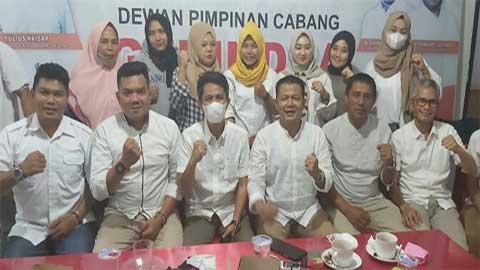 Pengurus Gerindra Kota Padang Panjang