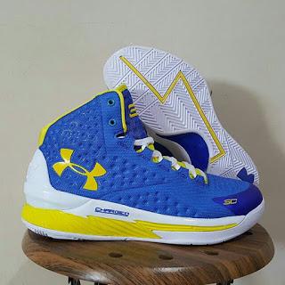 Sepatu Basket Under Armour Curry 1 Warriors , toko sepatu basket, jual basket Under Armour,  harga basket under armour, Curry 1, warriors