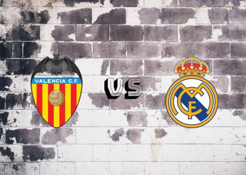 Valencia vs Real Madrid  Resumen y Partido Completo