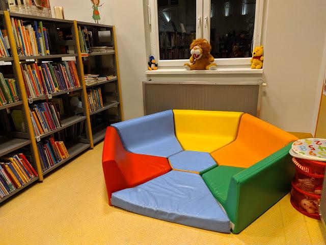 Biblioteka dla dzieci Wrocław ul. Grabiszyńska