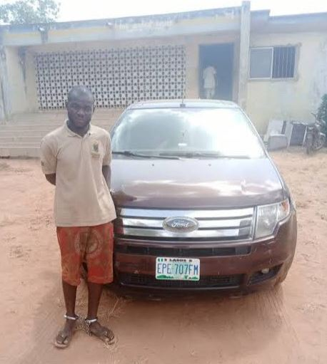Car Wash Attendant Apprehended After Escaping With Customer's SUV #hypebenue