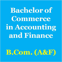 Bachelor of Commerce in Accounting and Finance - Mumbai University Syllabus B.A.F. or B.Com.(A&F)
