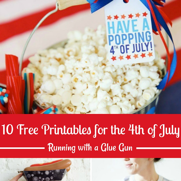 10 Free Printables for the 4th of July