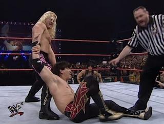 WWF Insurrexion 2000 - Chris Jericho faced Eddie Guerrero
