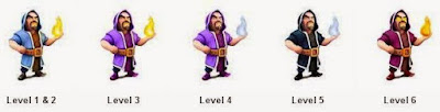 Wizard , COC ,Clash of clans
