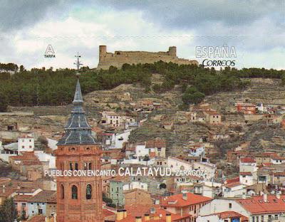 sello, filatelia, Calatayud, Zaragoza