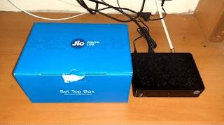 JioTV Set-Top box