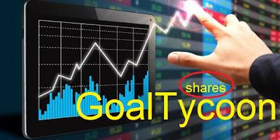 شرح سوق الأسهم أو الشيرز في لعبة جول تايكون Shares on GaoTycoon