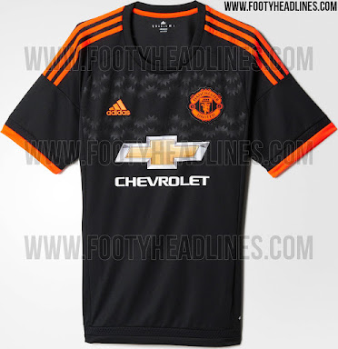 accd921e2 ... new away kit against Aston Villa. These are Man Utd s 2015-16 Away and  Third Shirts.